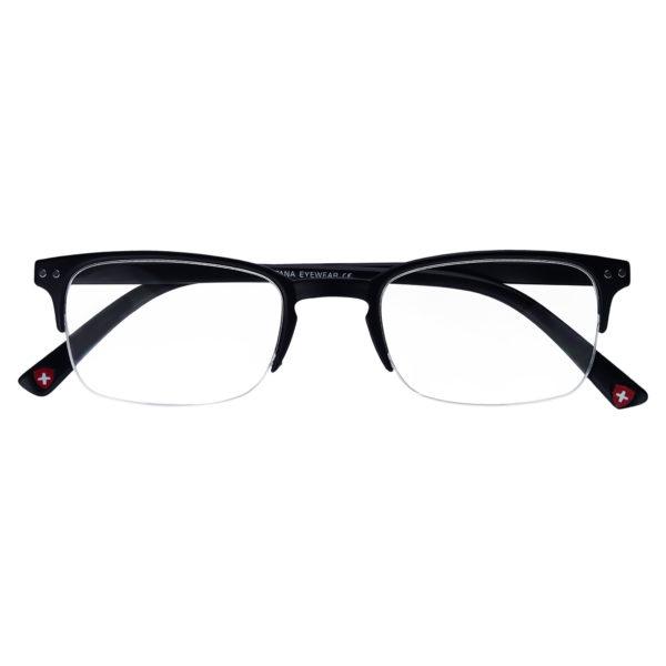 mens semi rimless reading glasses