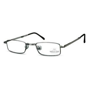 FOLDABLE READING GLASSES | (Gunmetal)