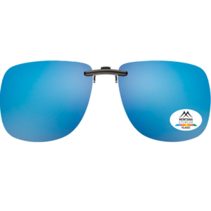 CLIP ON SUNGLASSES | (Blue)